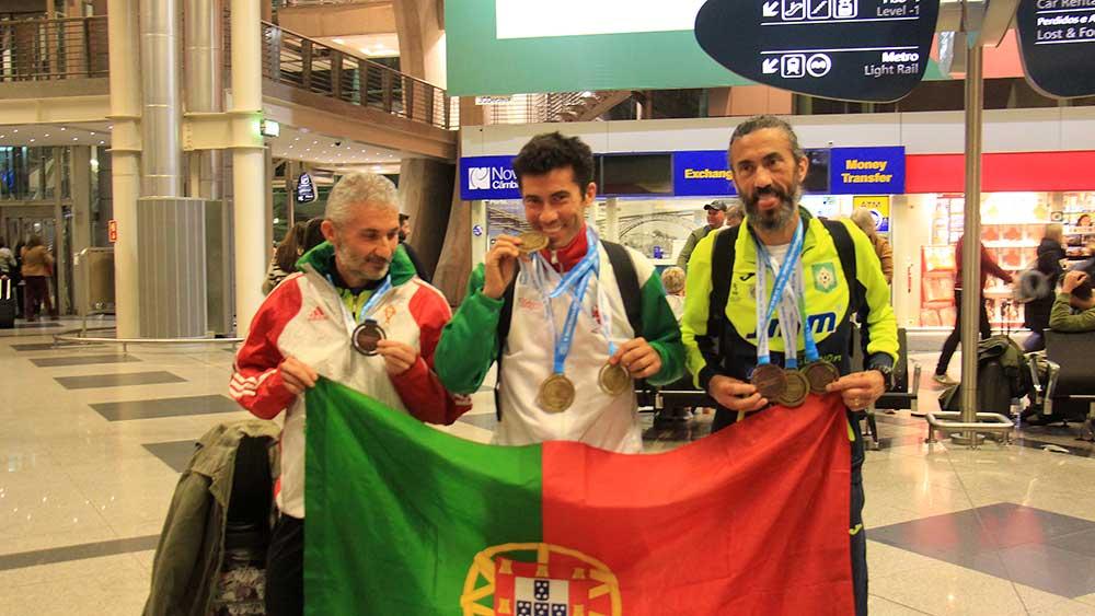 Atleta da Trofa foi 3 vezes campeão do mundo de atletismo na Polónia
