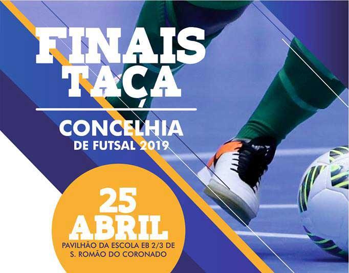 Finais concelhias de futsal a 25 de abril
