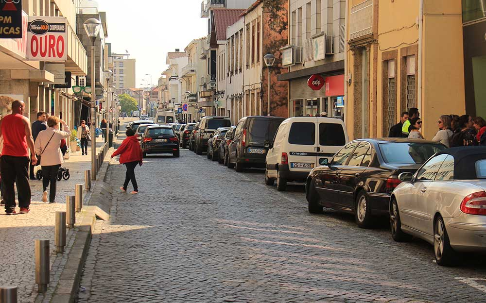 Rua Conde S. Bento torna-se pedonal em 2020 – Notícia de 1 de abril
