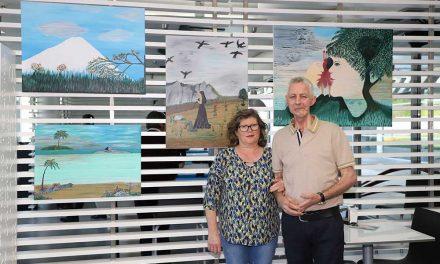 Pintor de S. Romão estreia-se numa exposição no Slotcar