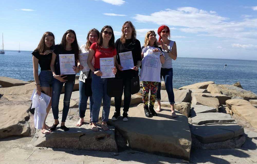 Mobilidade Erasmus à Eslovénia do Agrupamento de Escolas