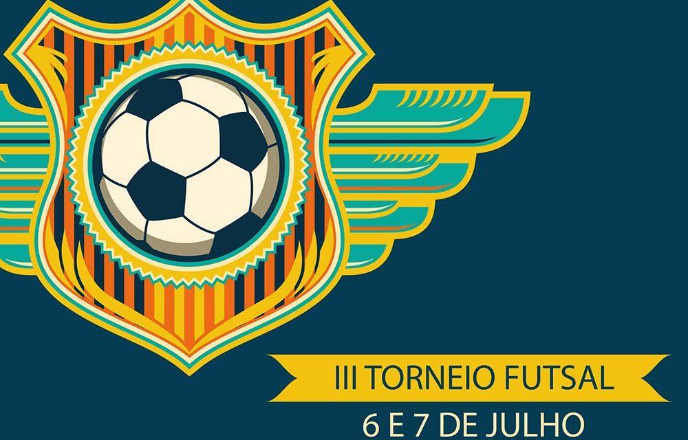 Torneio de futsal a 6 de julho