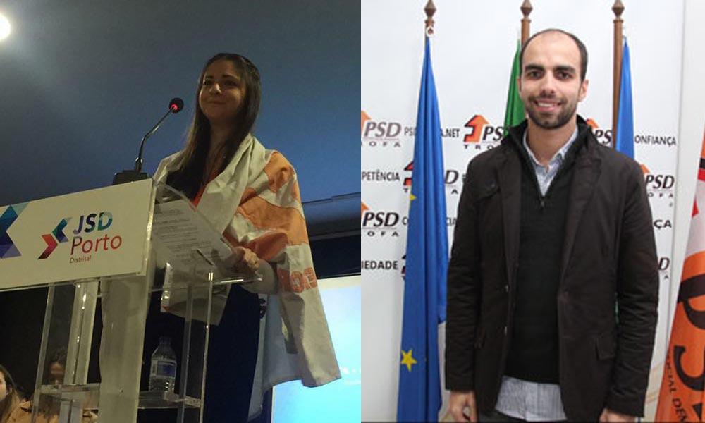 Sofia Matos e Alberto Fonseca em lugar elegível para a Assembleia da Republica