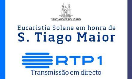 Missa em honra de São Tiago Maior em direto na RTP1