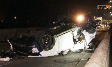 Ferido grave em acidente na ponte sobre o Rio Ave