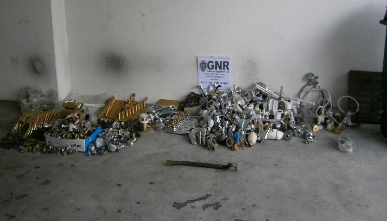 GNR recuperou material furtado em Guidões