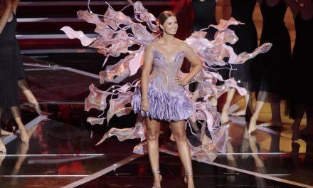 Cristina Ferreira nos Globos de Ouro com vestido de Micaela Oliveira