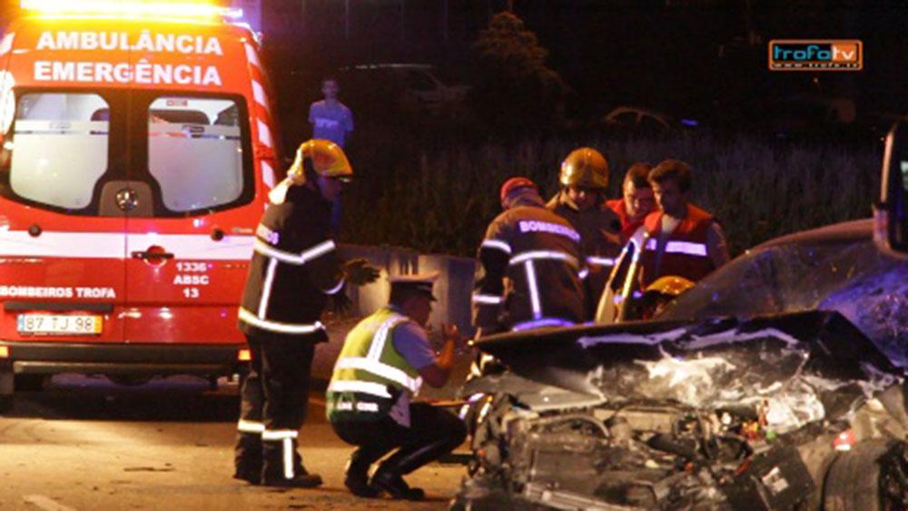 Homem morreu em acidente de viação – video