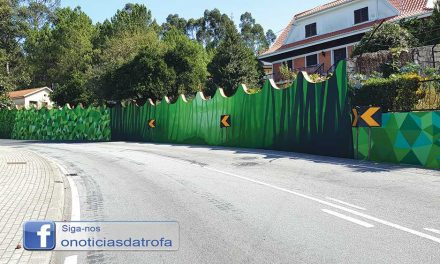 Município investe em arte urbana na EN 104