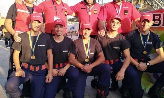 Voluntários da Trofa em 17.º do Bombeiro de Ferro