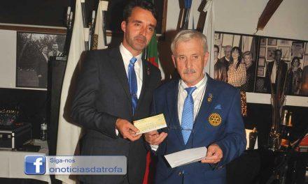 Governador do Distrito elogia trabalho do Rotary da Trofa