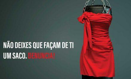 #NãoSouUmSaco apela à denúncia de violência doméstica