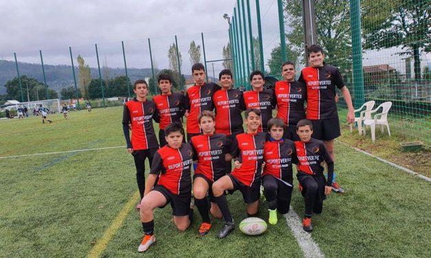 Escolinha de Rugby em 3.º lugar em Inter-regional