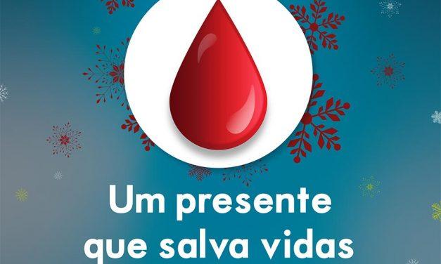 Este Natal, dê sangue. O seu hospital precisa de si.