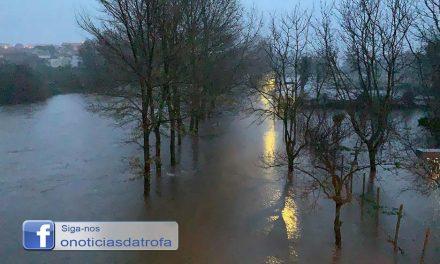 Nível da água do Rio Ave pode subir nas próximas horas