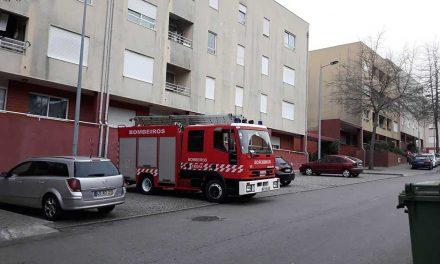 Fuga de gás na habitação social em Mosteirô