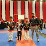 Karatecas de Cedões com bons resultados em Matosinhos