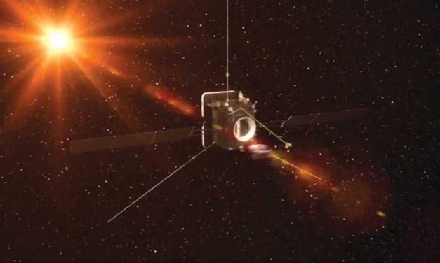 Sonda com trabalho  de trofenses lançada para estudar o Sol