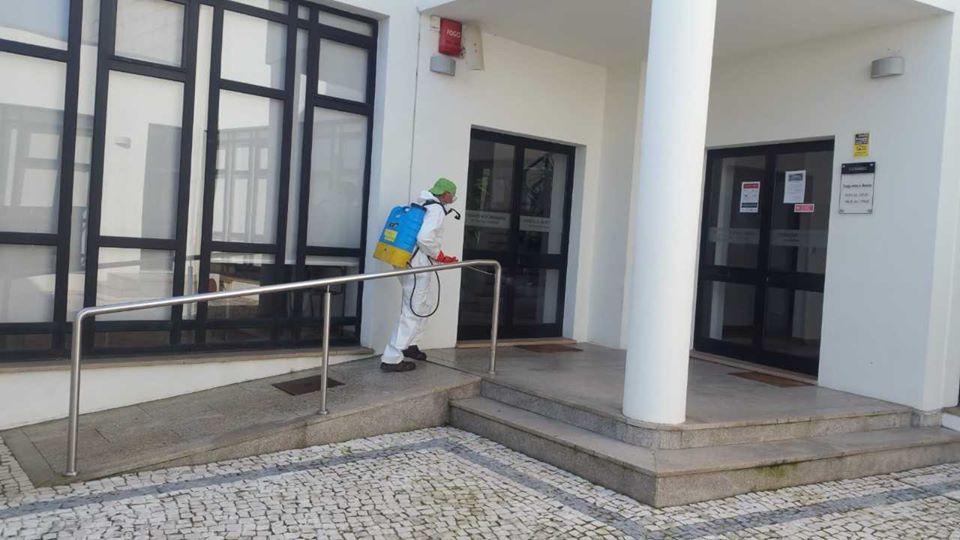 Bougado já iniciou desinfeção de espaço público