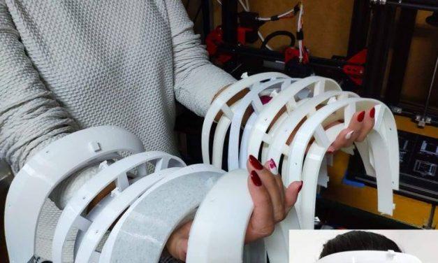 Empresa de Alvarelhos ajuda a criar viseiras para equipar profissionais de saúde