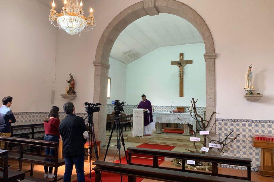 TrofaTv transmitiu eucaristia em S. Romão do Coronado